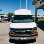 Chevy C3500 14 passenger charter shuttle coach bus for sale - Gas 3