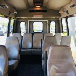 Chevy C3500 14 passenger charter shuttle coach bus for sale - Gas 6