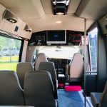 Chevy C3500 14 passenger charter shuttle coach bus for sale - Gas 7