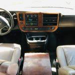 Chevy C3500 14 passenger charter shuttle coach bus for sale - Gas 8
