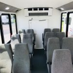 Ford Transit 14 passenger charter shuttle coach bus for sale - Gas 6