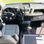 Ford Transit 14 passenger charter shuttle coach bus for sale - Gas 8