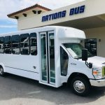 Ford E450 25 passenger charter shuttle coach bus for sale - Gas 1