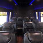 Mercedes 3500 14 passenger charter shuttle coach bus for sale - Diesel 4