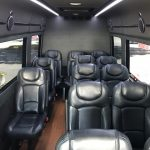 Mercedes 3500 14 passenger charter shuttle coach bus for sale - Diesel 6