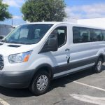 Ford Transit 14 passenger charter shuttle coach bus for sale - Gas 2