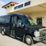 Ford E350 13 passenger charter shuttle coach bus for sale - Gas 1