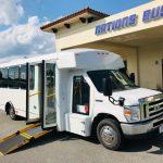 Ford E450 20 passenger charter shuttle coach bus for sale - Gas 1
