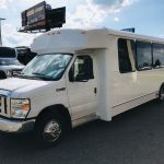 Ford E450 20 passenger charter shuttle coach bus for sale - Gas 2