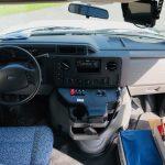 Ford E450 20 passenger charter shuttle coach bus for sale - Gas 6