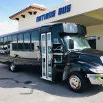 International UC 29 passenger charter shuttle coach bus for sale - Diesel 1