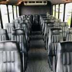 International UC 29 passenger charter shuttle coach bus for sale - Diesel 9