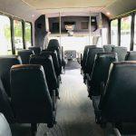 International UC 29 passenger charter shuttle coach bus for sale - Diesel 10