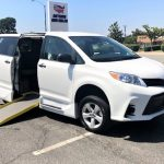 Toyota Sienna 4 passenger charter shuttle coach bus for sale - Gas 1