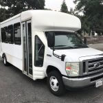 Ford E450 24 passenger charter shuttle coach bus for sale - Gas 3