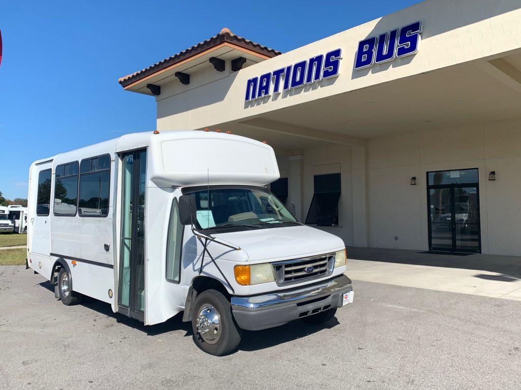 Ford E350 8 passenger charter shuttle coach bus for sale - Gas