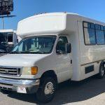 Ford E350 8 passenger charter shuttle coach bus for sale - Gas 3
