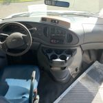 Ford E350 8 passenger charter shuttle coach bus for sale - Gas 8