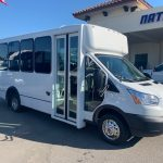 Ford Transit 350 14 passenger charter shuttle coach bus for sale - Gas 1