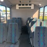 Ford Transit 350 14 passenger charter shuttle coach bus for sale - Gas 6