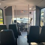 Ford Transit 350 14 passenger charter shuttle coach bus for sale - Gas 7