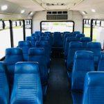 Ford E-450 25 passenger charter shuttle coach bus for sale - Gas 5