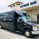 Ford E-450 23 passenger charter shuttle coach bus for sale - Gas 1