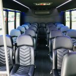 Ford E-450 23 passenger charter shuttle coach bus for sale - Gas 6