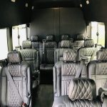 Ford Transit 350 13 passenger charter shuttle coach bus for sale - Gas 6