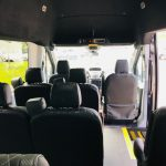 Ford Transit 350 13 passenger charter shuttle coach bus for sale - Gas 7