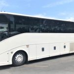 Van Hool  57 passenger charter shuttle coach bus for sale - Diesel 2