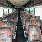 Van Hool  57 passenger charter shuttle coach bus for sale - Diesel 5