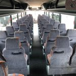 Van Hool  57 passenger charter shuttle coach bus for sale - Diesel 7