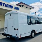Ford E450 25 passenger charter shuttle coach bus for sale - Gas 4