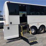 Van Hool  57 passenger charter shuttle coach bus for sale - Diesel 8