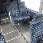 Van Hool  57 passenger charter shuttle coach bus for sale - Diesel 9