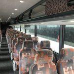 Van Hool 56 passenger charter shuttle coach bus for sale - Diesel 9