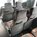 Van Hool 56 passenger charter shuttle coach bus for sale - Diesel 10