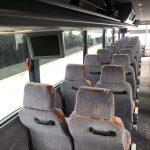Van Hool 56 passenger charter shuttle coach bus for sale - Diesel 11
