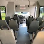 Ford E350  12 passenger charter shuttle coach bus for sale - Gas 7