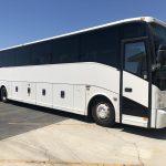 Van Hool 56 passenger charter shuttle coach bus for sale - Diesel 1