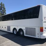 Van Hool 56 passenger charter shuttle coach bus for sale - Diesel 5