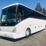 Van Hool  57 passenger charter shuttle coach bus for sale - Diesel 4