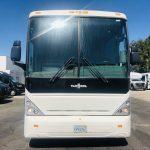Van Hool  57 passenger charter shuttle coach bus for sale - Diesel 3