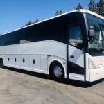 Van Hool  57 passenger charter shuttle coach bus for sale - Diesel 1