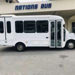 Chevy C4500 13 passenger charter shuttle coach bus for sale - Diesel 2