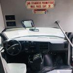 Chevy C4500 13 passenger charter shuttle coach bus for sale - Diesel 11