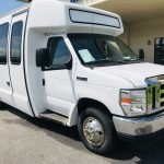Ford E450 19 passenger charter shuttle coach bus for sale - Gas 1