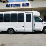 Ford E450 19 passenger charter shuttle coach bus for sale - Gas 2