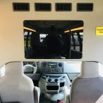 Ford E450 19 passenger charter shuttle coach bus for sale - Gas 11